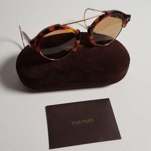 Tom Ford Tortoise Shell Sunglasses